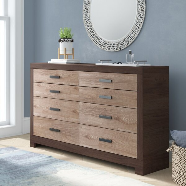 Brockett 6 Drawer Double Dresser by Latitude Run