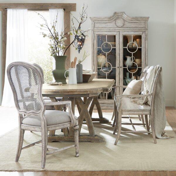 Boheme Colibri Trestle 5 Piece Extendable Dining Set by Hooker Furniture Hooker Furniture