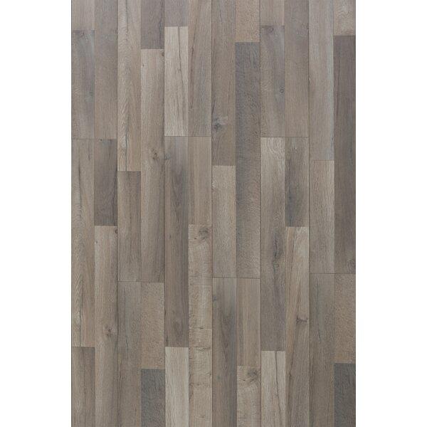Elegant 12 x 48 x 12.3mm Oak Laminate Flooring in Great Wall by Christina & Son