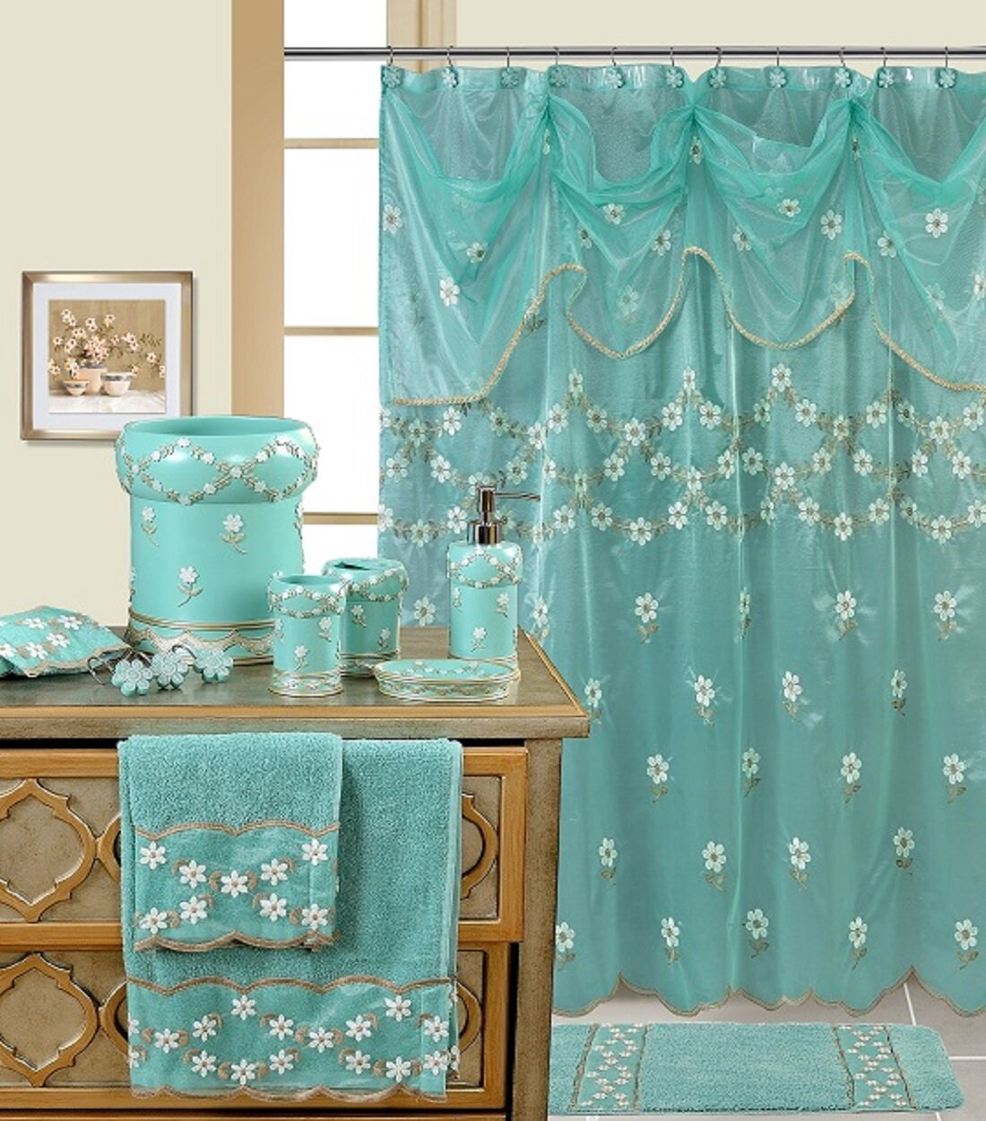 Daniels Bath Decorative Shower Curtain & Reviews   Wayfair