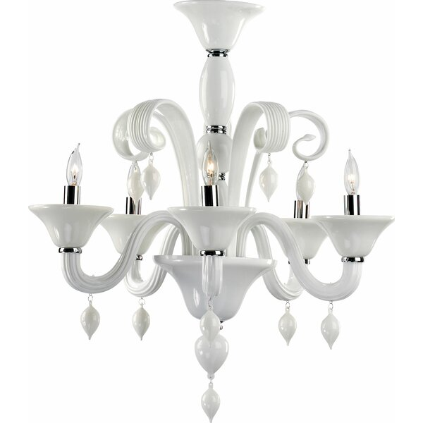 Treviso 8-Light Candle Style Classic / Traditional Chandelier By Cyan Design