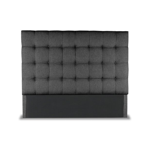 Esters Box Tufting Upholstered Headboard by Darby Home Co