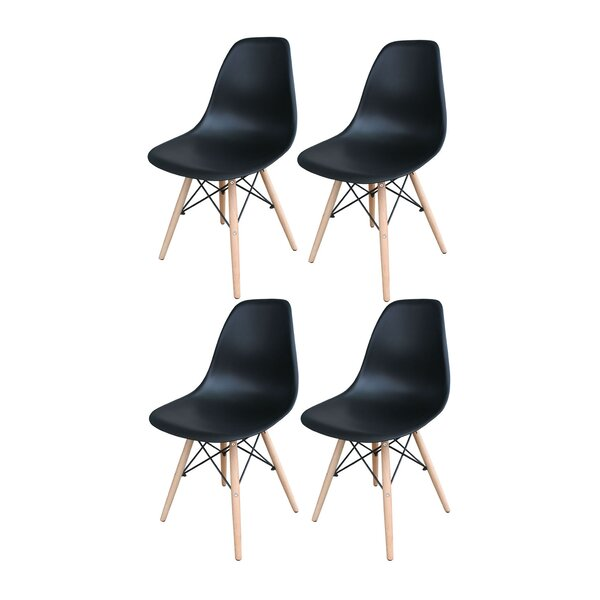 Bargain Perkinson Scoop Seat Dining Chair (Set Of 4) By George Oliver New Design
