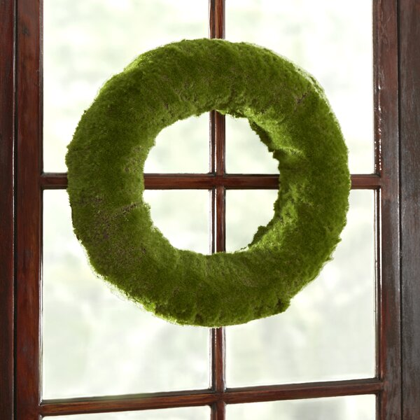 Faux Moss Wreath by Birch Lane™