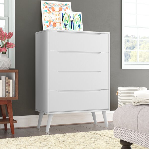 Staton 4 Drawer Chest by Modern Rustic Interiors