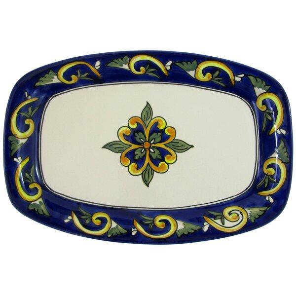 Riya Stoneware Rectangular Platter by Le Souk Ceramique