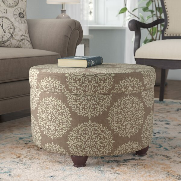 Denning Medallion Storage Ottoman by Ophelia & Co.