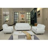 White Leather Living Room Sets You\'ll Love in 2019 | Wayfair