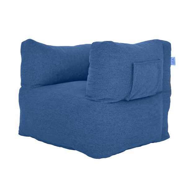 Standard Microfiber Bean Bag Chair And Lounger (Set Of 2) By LEA Unlimited Inc.