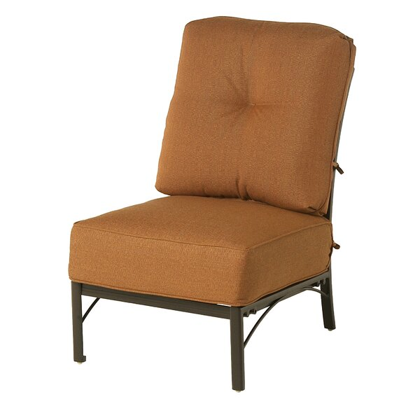 Merlyn Club Middle Patio Chair by Fleur De Lis Living