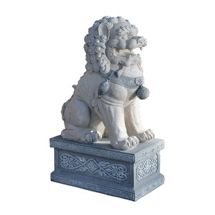 Giant Forbidden City Foo Dog Statue (Set Of 2)