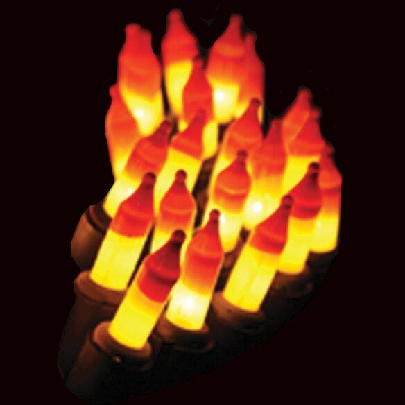 20 Light Candy Corn Mini Bulb String Light by Penn Distributing