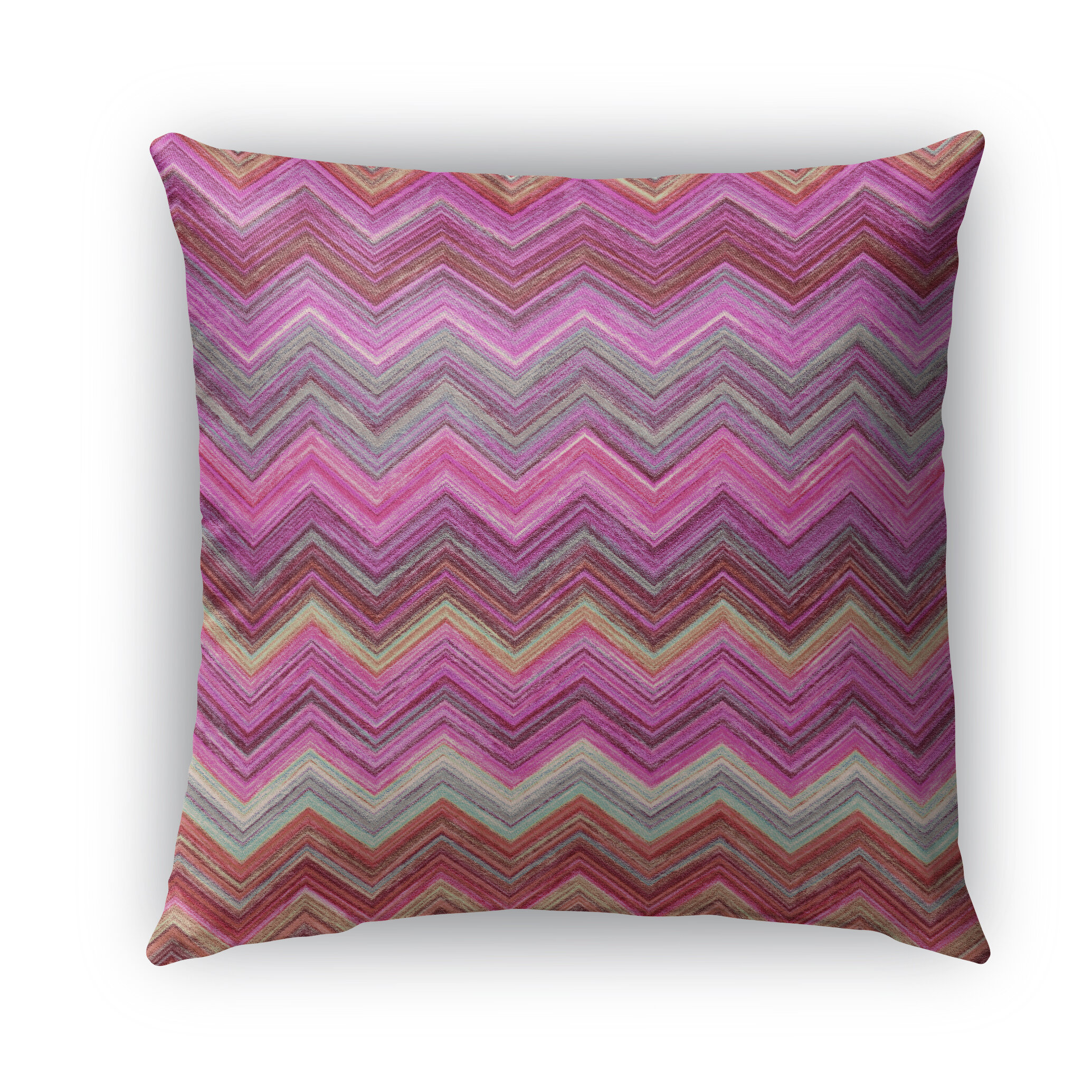 Decorative Pillows Marshalls : Ivy Bronx Marshall Pink Burlap Indoor/Outdoor Throw Pillow Wayfair