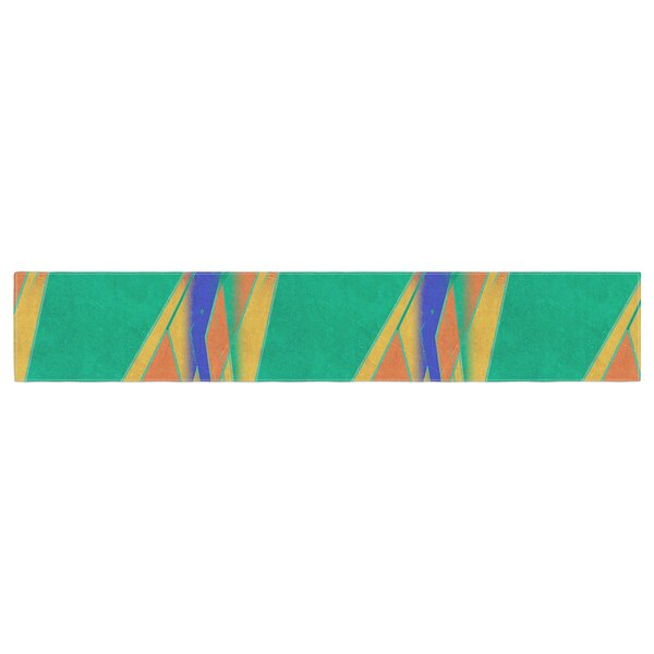 Alison Coxon Deco Art Table Runner by East Urban Home