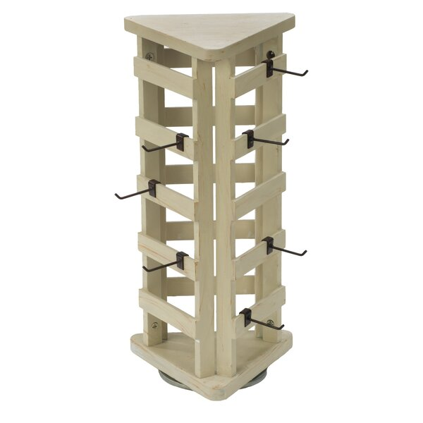 3-Sided Free Standing Jewelry Armoire by Tripar