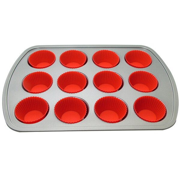 12 Muffin Baking Pan with 12 Cup by Le Chef