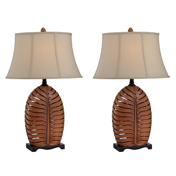 Reeder Leaf 31 Table Lamp (Set of 2) by Bay Isle Home