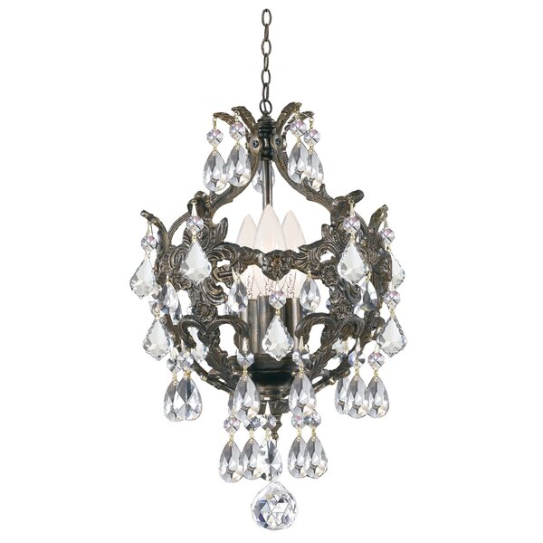 Weigle 3-Light Candle Style Chandelier by Astoria Grand