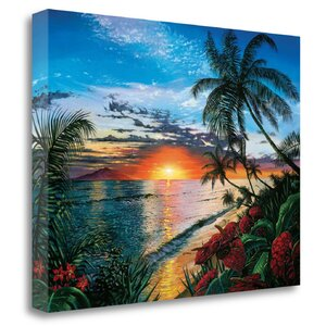 'Sunset Serenade' by Scott Westmoreland Graphic Art on Wrapped Canvas by Tangletown Fine Art