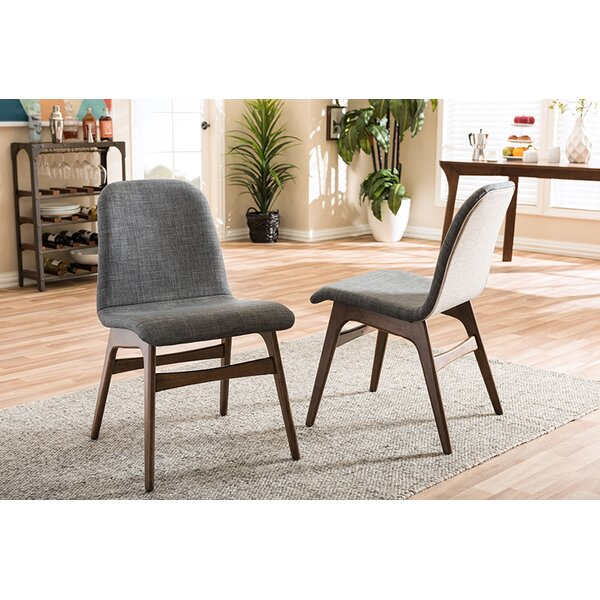 Carrick Scandinavian Upholstered Dining Chair (Set of 2) by George Oliver
