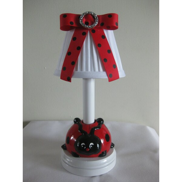 Little Ladybug 7.25 Table Lamp by Silly Bear Lighting