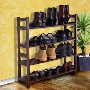 Purchase Veranda 4-Tier 20 Pair Shoe Rack By D-Art Collection