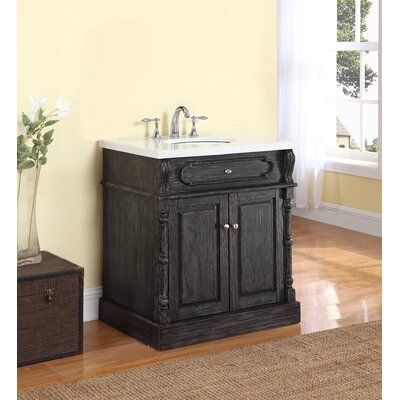 Alcott Hill Lambrecht Single Bathroom Vanity Reviews Wayfair - Bathroom vanities ocala fl