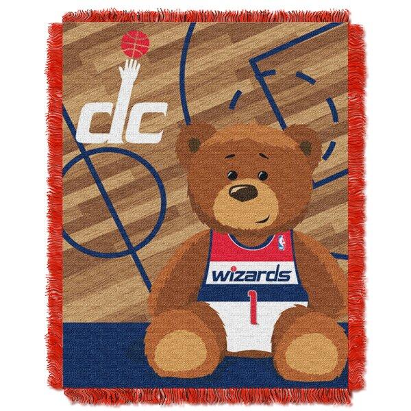 NBA Wizards Half Court Baby Blanket by Northwest Co.