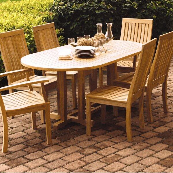Camden Teak Dining Table by Three Birds Casual