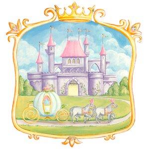 Pretty Princess Castle Wall Mural