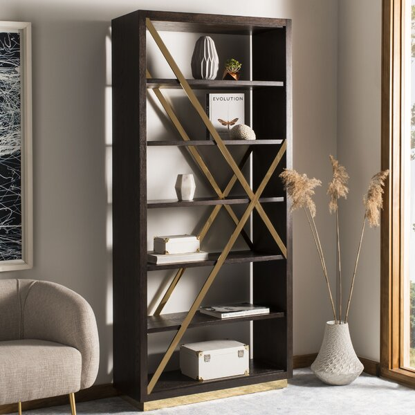 Leeson Oak Standard Bookcase by Brayden Studio