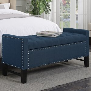 Lamothe Button Tufted Storage Bench by Alcott Hill