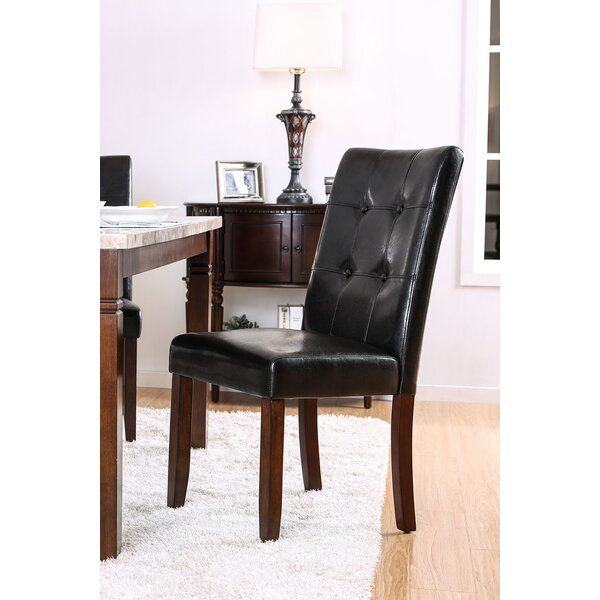 Webber Upholstered Dining Chair by Fleur De Lis Living