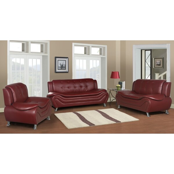 Tolar 3 Piece Living Room Set by Latitude Run