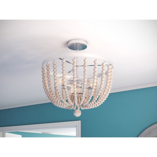 Tilden 3 Light Semi Flush Mount by Joss & Main