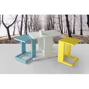 Dumont 3 Piece Nesting Table by Brayden Studio