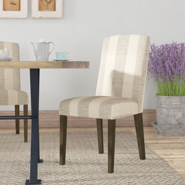 Gage Back Parsons Upholstered Parsons Chair (Set of 2) by Gracie Oaks