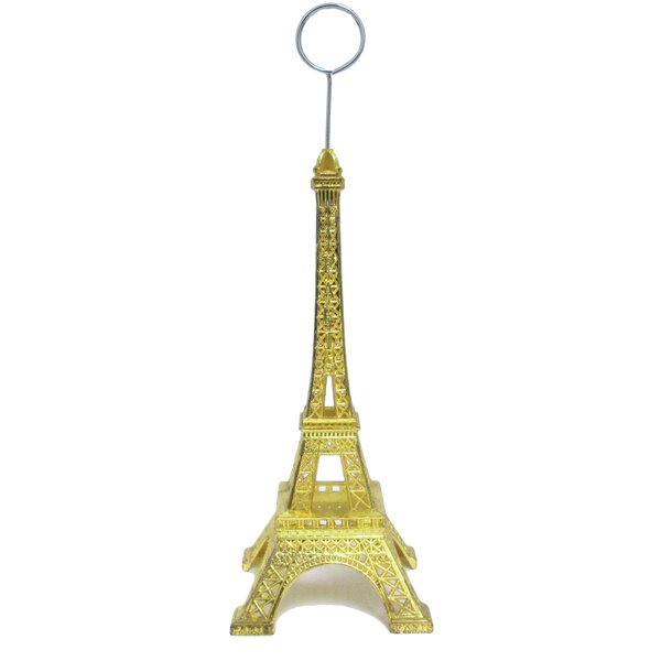 Eiffel Place Card Holder (Set of 12) by House of Hampton