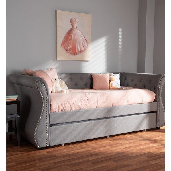 Lanning Daybed with Trundle by Alcott Hill