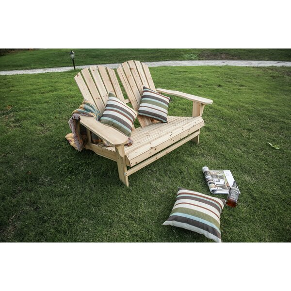 Melcher Wood Adirondack Chair by Rosecliff Heights