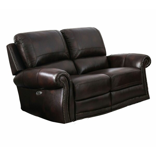 Brondon Reclining 38.5-inch Rolled Arms Loveseat by Red Barrel Studio Red Barrel Studio