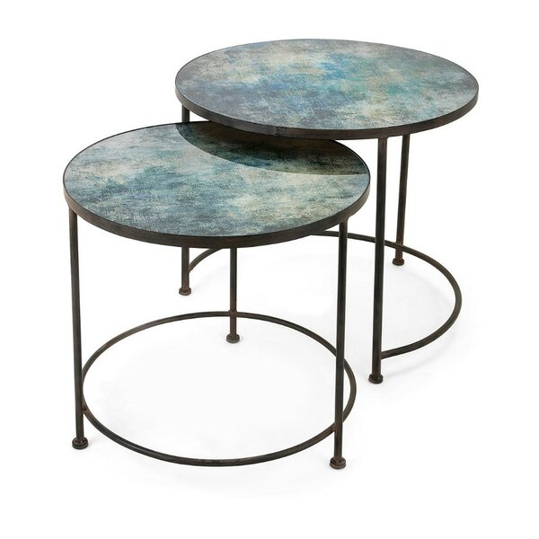Brunella 2 Piece Nesting Tables By 17 Stories