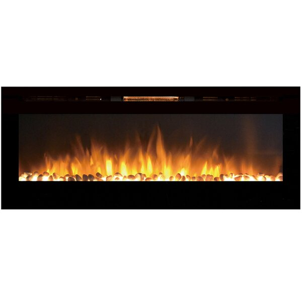 Essary Wall Mounted Electric Fireplace by Orren Ellis