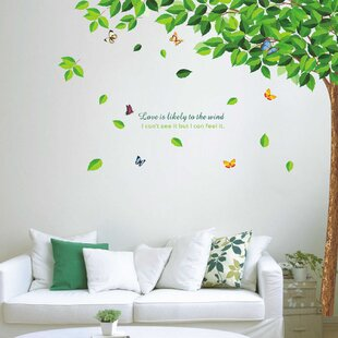 Trees And Flower Wall Decals You\'ll Love | Wayfair