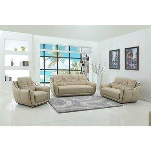 Henthorn 3 Piece Living Room Set by Latitude Run®