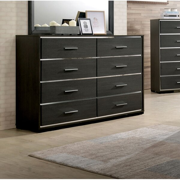Addyson 8 Drawer Double Dresser by Orren Ellis