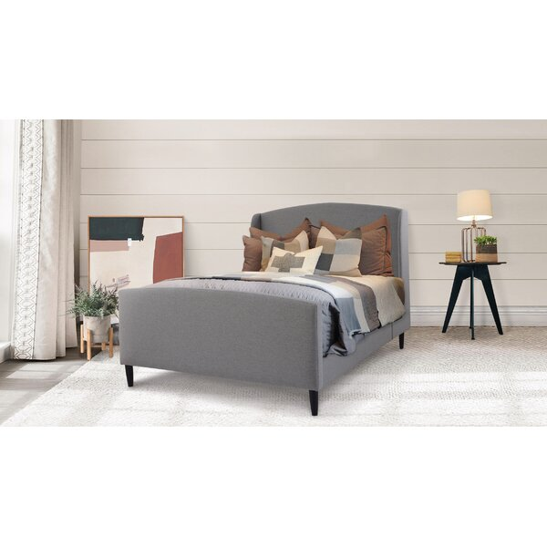 Giroux Upholstered Platform Bed by Darby Home Co