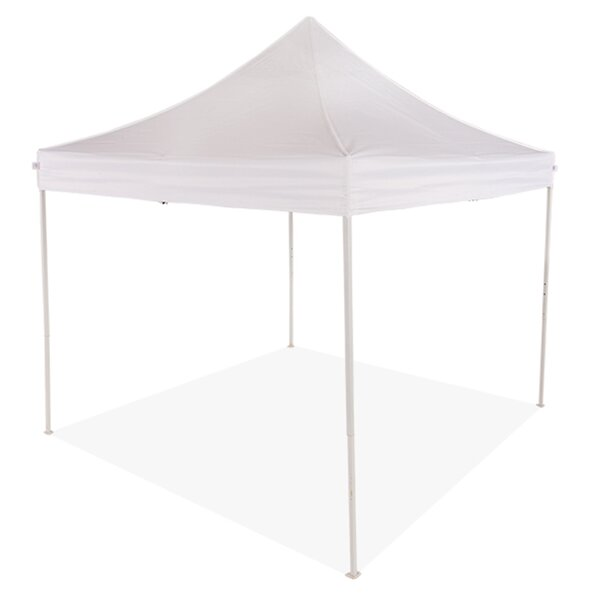 TLKIT 10 Ft. W x 10 Ft. D Metal Pop-Up Canopy by Impact Instant Canopy