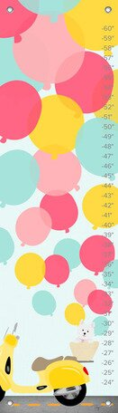 Balloons Growth Chart by Oopsy Daisy