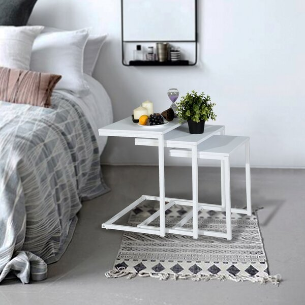 Arne Frame Nesting End Table By Ebern Designs